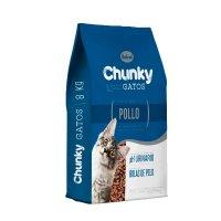 Alimento Chunky Gatos Pollo 8 Kg