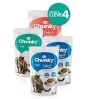 Alimento Húmedo Chunky Delicat Pague 3 Lleve 4