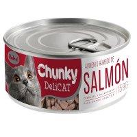 Alimento Húmedo Delicat Salmón x156g