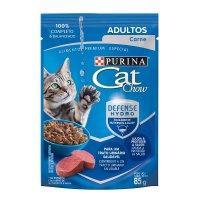 Alimento húmedo para Gatos Cat Chow adulto carne x 85 gr