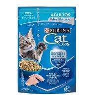 Alimento húmedo para Gatos Cat Chow adulto pescado x 85 gr
