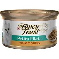 Alimento húmedo para Gatos Fancy Feast petits filets pollo y queso x 85 gr