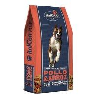 Alimento Italcan Pollo y Arroz 25 Kg