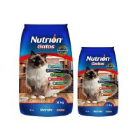 Alimento Nutrion Gatos x8Kg + Alimento Gatos Nutrion 1.5Kg