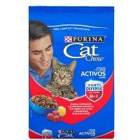 Alimento para gatos Cat Chow adulto activos carne x 500 gr