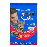 Alimento para gatos Cat Chow adulto activos carne x 8 kg
