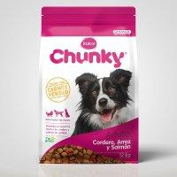 Alimento Perros Adulto Todas Razas Cordero Arroz Salmón x12kg