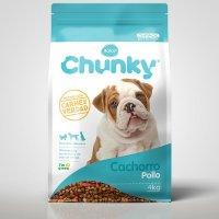 Alimento Perros Cachorros Pollo x4kg