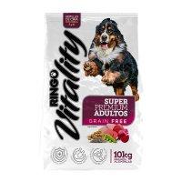 Alimento Super Premium Ringo Vitality Perros Adultos * 10 Kg