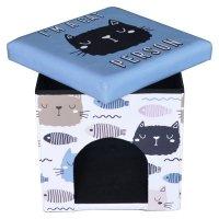 Animal Pouf 38X38X38 Kitty