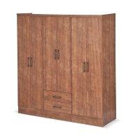 Armario 6 Puertas 2 Cajones 180x180x46 Cm Native