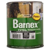 Barniz Extra Protección Semibrillante Caoba x1/4gal
