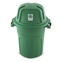 Basurero Residuos 100 l Orgánicos Verde