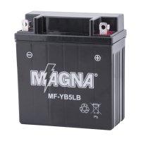 Batería Moto Magna 12 Vol 5 Amperios
