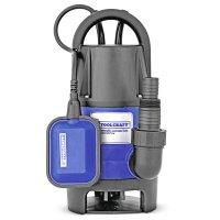 Bomba Sumergible para Agua Sucia 1 HP Toolcraft