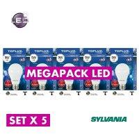 Bombillo Led 9W Luz Fria Pack X 5 Silvania