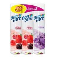 Bonaire Spray x3 400ml Frutos rojos 2 - Lavanda1