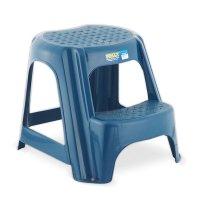 Butaco - Escalera Plástico Rimax 2 Pasos Azul