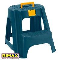 Butaco - Escalera Plástico Rimax Tapa Organizadora Azul