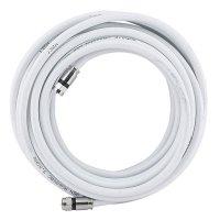 Cable 8 m Bc-106-8Ccw Coaxial con Conectores Blanco