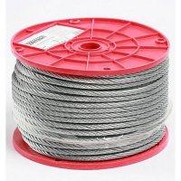 """Cable Acero 3/16"""" x 1/4"""" Pvc 1Mt"""