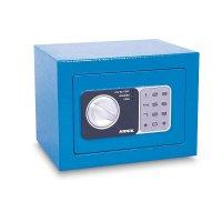 Caja Fuerte Color Celeste 17X23X17