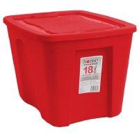 Caja Organizadora 68 Litros Roja