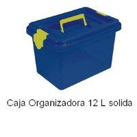 Caja Organizadora Apilable 12 Lts