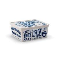 Caja Plastica Letras M 18L