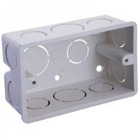 Caja Rectangular 2 cm x 4 cm Conduit