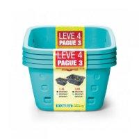 Canasto Verde 1,4L - Lleve 4 Pague 3