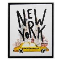 Canvas 3D 40X50 New York