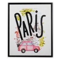 Canvas 3D 40X50 Paris