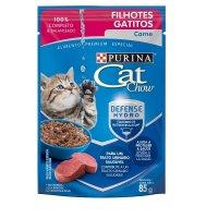 Cat Chow Alimento Húmedo Gatitos Carne X 85gr