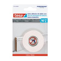 Cinta Doble Faz Pared Pintada 1.5Mx19Mm