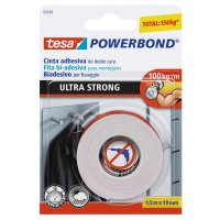 Cinta Doble Faz Ultrastrong 1.5Mx19Mm