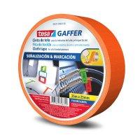 Cinta Gaffer Fluore 25Mmx25M Naranja