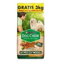 Comida para perro Dog Chow Adulto sin colorantes minis y pequeños x 22,7 kg precio especial