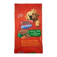 Comida para perro Ladrina adulto carne a la parilla x 10 kg