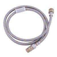 """Conector 1/2 x 3/8"""" EAG-G120 Flare Macho Flexible Gas Acero Inoxidable"""