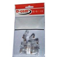 Conector Estándar 320-2 Categoría 5E Cuchillas Contacto 50U x10 und