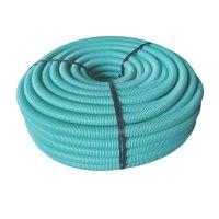 Coraza Flexible Verde 1PG PVC X 1M ACME