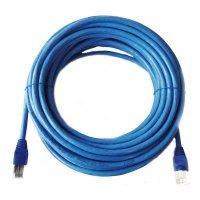 Cordón 10 m Cable Utp Cb.24 Awg Azul