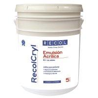 Emulsión Acrílica Recolcryl x 5 Gl Recol Neutro