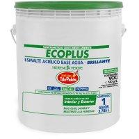 Esmalte 1gl Ecoplus Tito Pabon Nieve Bte