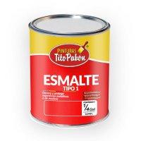 Esmalte Tipo 1 Brillante Blanco x1/4 gal