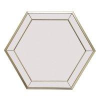 Espejo Decorativo Hexagonal 02