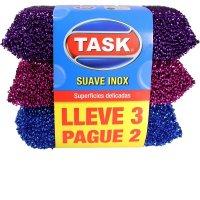 Esponja Suave Inox Task Pague 2 Lleve 3