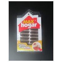 Fieltro de Protección Óvalo Café 12 Unidades Max Hogar