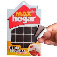 Fieltro Protector 24 x 24 x 3 mm Café x32und